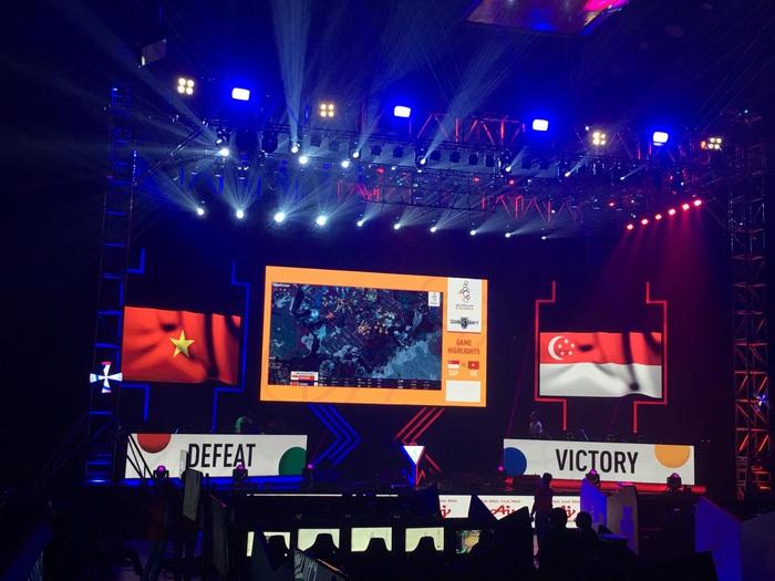 Esports Việt Nam thảm bại tại SEA Games 30 chỉ sau 2 ngày thi đấu chính thức  - Ảnh 1.