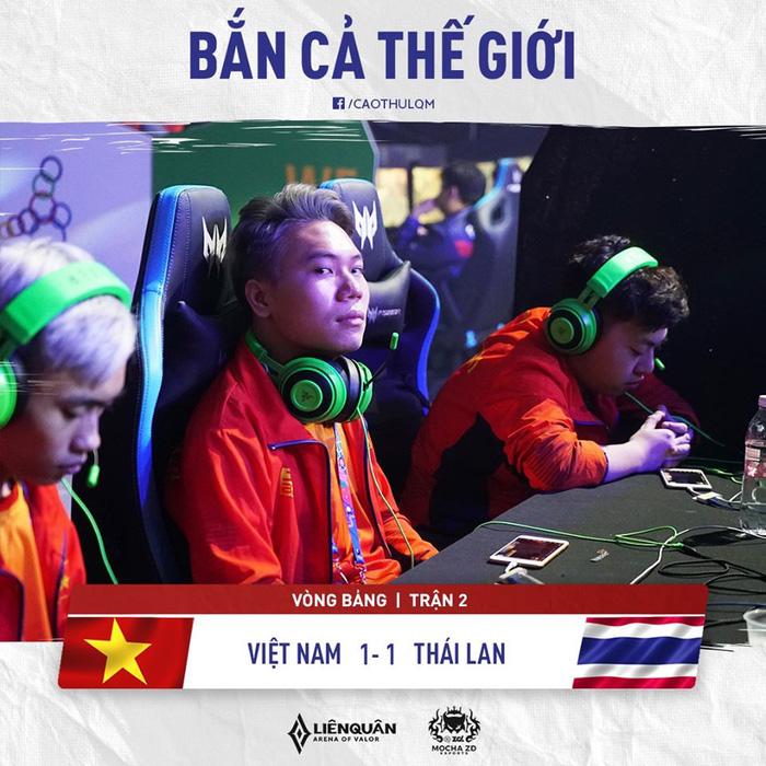 Thi đấu triệt để trước đại kình địch Thái Lan, tuyển Liên Quân Mobile Việt Nam có lợi thế lớn trong cuộc đua giành vị trí nhất bảng A - Ảnh 2.