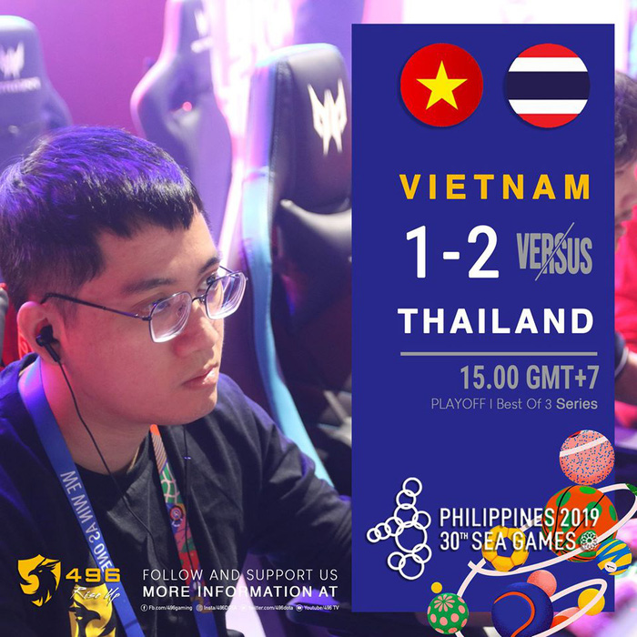 Thua ngược Thái Lan, ĐT Việt Nam giành huy chương Đồng SEA Games 30 nội dung Dota 2 - Ảnh 2.