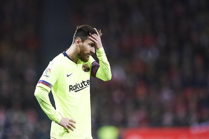 Liên tục bị từ chối penalty, Barcelona hòa thất vọng 0-0 trước Bilbao - Ảnh 1.
