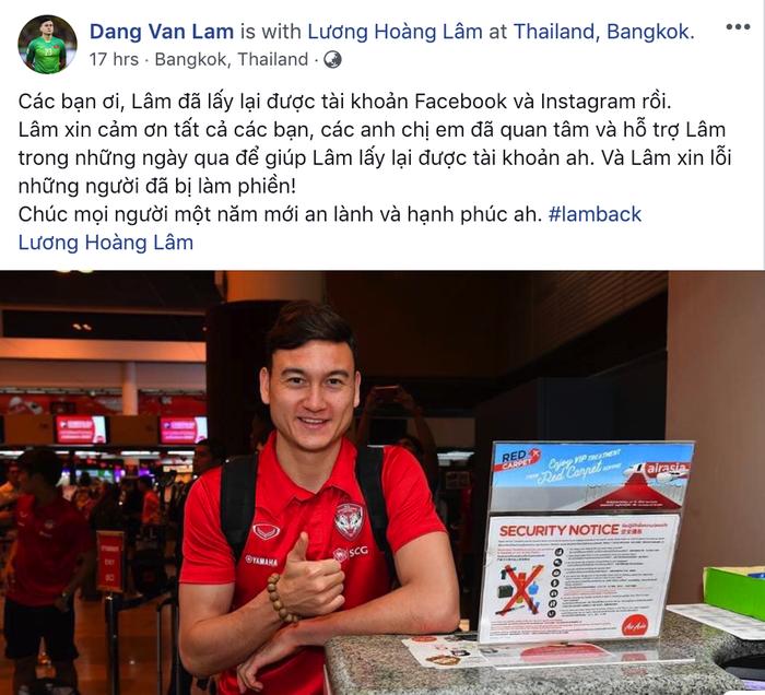 Văn Lâm sởn da gà vì được chăm sóc quá kỹ ở Muangthong United - Ảnh 2.