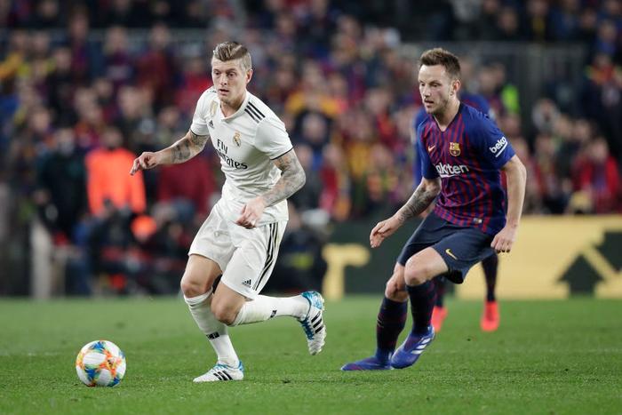 Cầm chân Barcelona tại Camp Nou, Real Madrid giành lợi thế ở bán kết Cúp Nhà vua Tây Ban Nha - Ảnh 1.