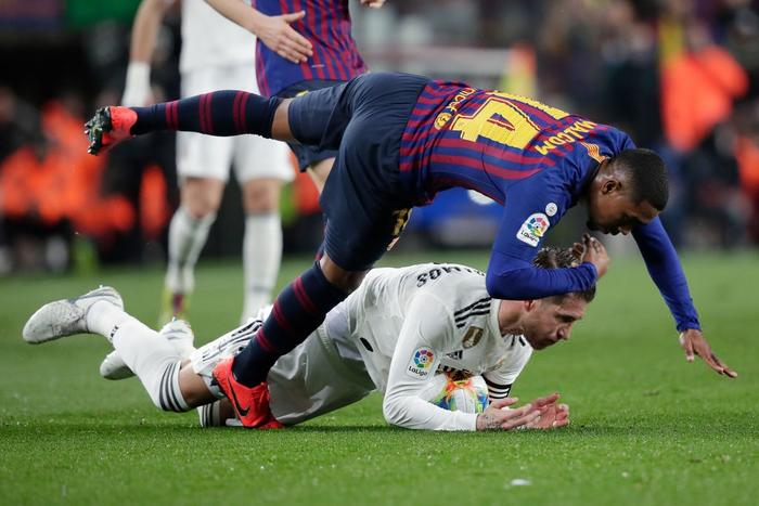 Cầm chân Barcelona tại Camp Nou, Real Madrid giành lợi thế ở bán kết Cúp Nhà vua Tây Ban Nha - Ảnh 3.