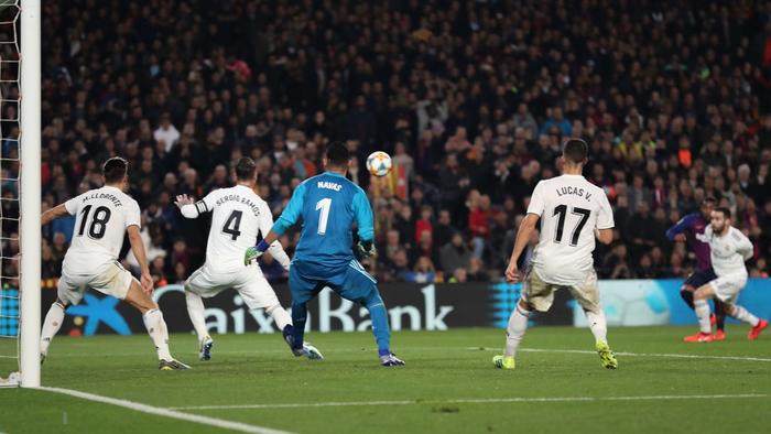 Cầm chân Barcelona tại Camp Nou, Real Madrid giành lợi thế ở bán kết Cúp Nhà vua Tây Ban Nha - Ảnh 7.