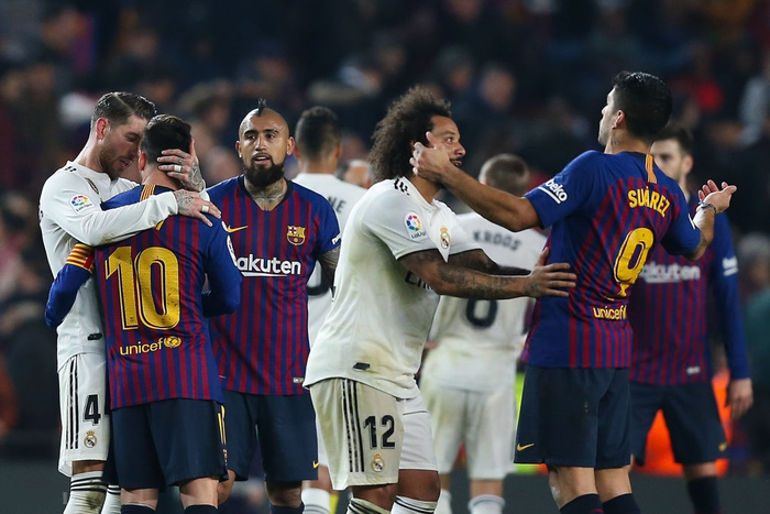 Cầm chân Barcelona tại Camp Nou, Real Madrid giành lợi thế ở bán kết Cúp Nhà vua Tây Ban Nha - Ảnh 10.