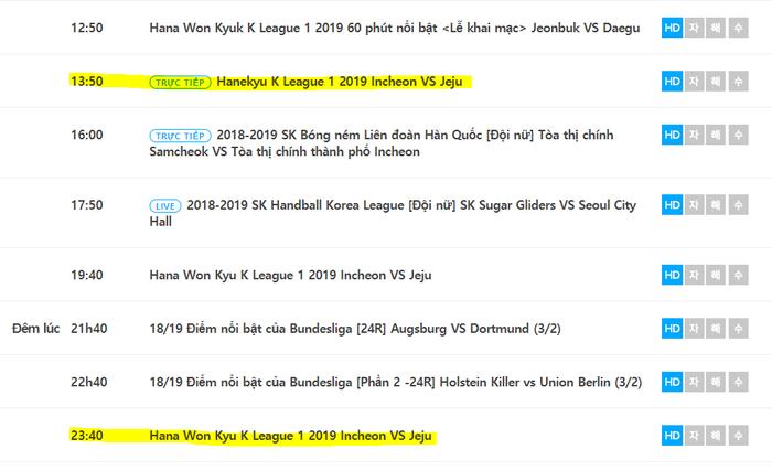 Xem trực tiếp Công Phượng ra mắt K.League Classic 2019 trên kênh nào? - Ảnh 1.