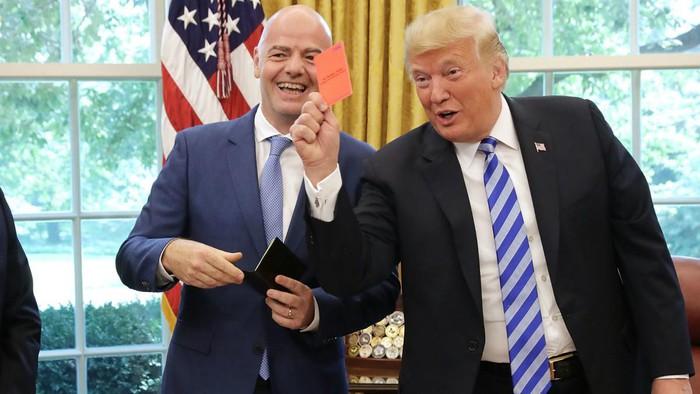Chủ tịch LĐBĐ thế giới: Đến ông Trump và ông Kim còn cho nhau cơ hội, tại sao World Cup không thể có 48 đội? - Ảnh 1.