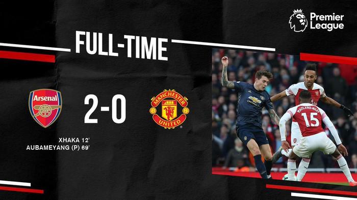 Cho Man United của Solskjaer lần đầu nhận thất bại tại Ngoại hạng Anh, Arsenal chính thức chen chân vào top 4 - Ảnh 3.