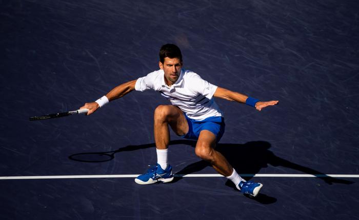 Djokovic nổi giận đạp nát vợt khi thua sốc, Federer hạ gục bạn thân tại Indian Wells - Ảnh 5.