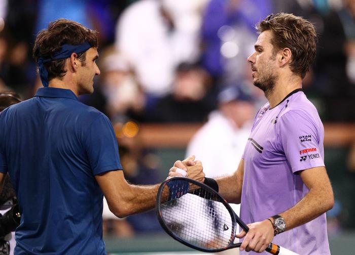 Djokovic nổi giận đạp nát vợt khi thua sốc, Federer hạ gục bạn thân tại Indian Wells - Ảnh 8.