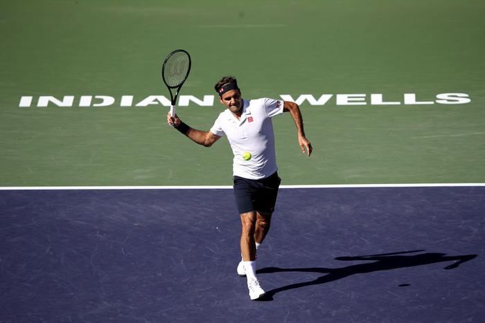 Federer dạo chơi vào tứ kết Indian Wells, còn cách đại chiến với Nadal 1 trận nữa - Ảnh 6.
