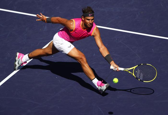 Federer dạo chơi vào tứ kết Indian Wells, còn cách đại chiến với Nadal 1 trận nữa - Ảnh 8.
