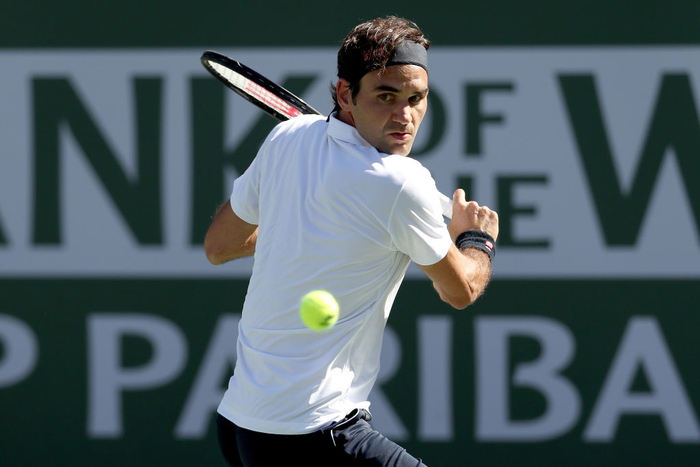 Federer dạo chơi vào tứ kết Indian Wells, còn cách đại chiến với Nadal 1 trận nữa - Ảnh 4.