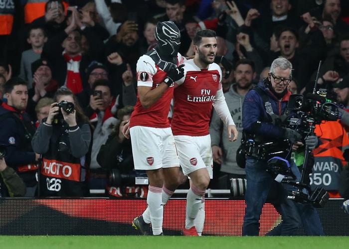 Black Panther xuất hiện, Arsenal ngược dòng xuất sắc tiến vào tứ kết Europa League - Ảnh 5.