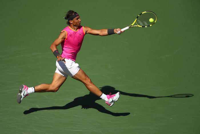 Federer ghi điểm khiến tỷ phú Bill Gates trầm trồ, sẽ đại chiến Nadal ở bán kết Indian Wells - Ảnh 7.