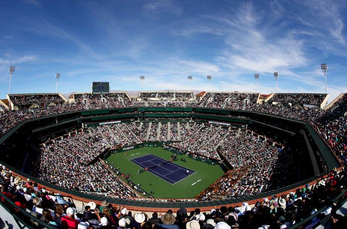 Federer ghi điểm khiến tỷ phú Bill Gates trầm trồ, sẽ đại chiến Nadal ở bán kết Indian Wells - Ảnh 9.