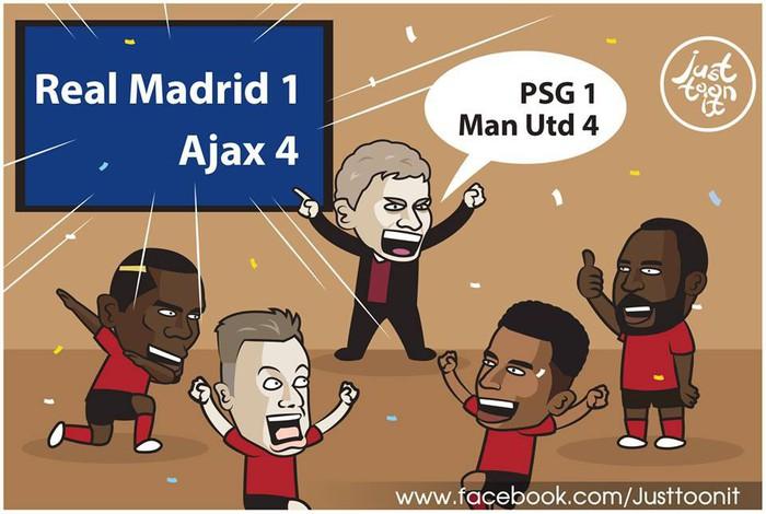 Loạt ảnh biếm họa hóm hỉnh về thất bại đen tối bậc nhất lịch sử Real Madrid - Ảnh 6.