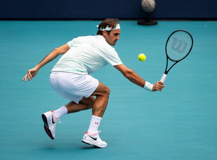 Khiến đương kim vô địch từ bỏ vũ khí, Federer vô địch Miami Open để giành danh hiệu thứ 101 - Ảnh 3.