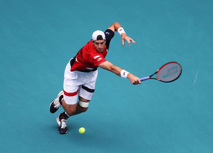 Khiến đương kim vô địch từ bỏ vũ khí, Federer vô địch Miami Open để giành danh hiệu thứ 101 - Ảnh 5.