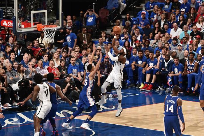 Brooklyn Nets giành chiến thắng thuyết phục trên sân nhà của Philadelphia 76ers - Ảnh 1.