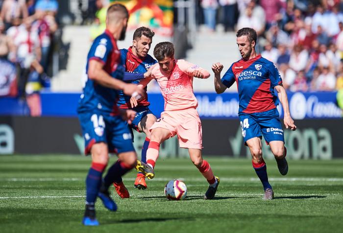 Barcelona có sự chuẩn bị nghèo nàn trước cuộc đối đầu quyết định với MU - Ảnh 6.