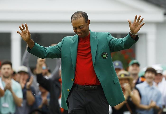 Tiger Woods chấm dứt cơn khát danh hiệu major kéo dài 11 năm bằng chiến thắng kịch tính - Ảnh 3.