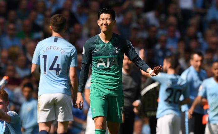 Đánh bại đội bóng của Son Heung-min, Man City đòi lại ngôi đầu Ngoại hạng Anh - Ảnh 2.
