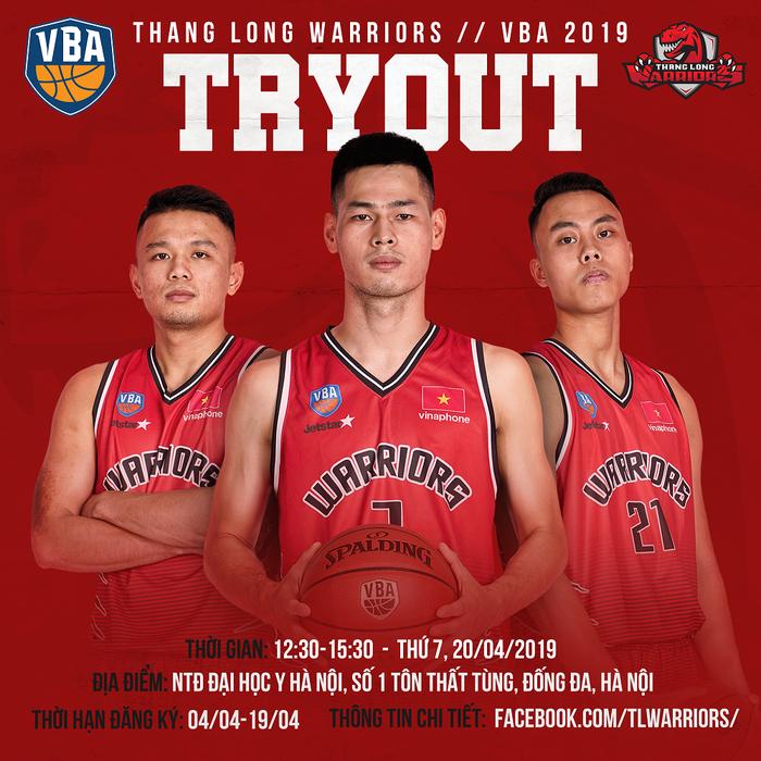 Thang Long Warriors tuyển quân trước thềm VBA 2019 - Ảnh 1.