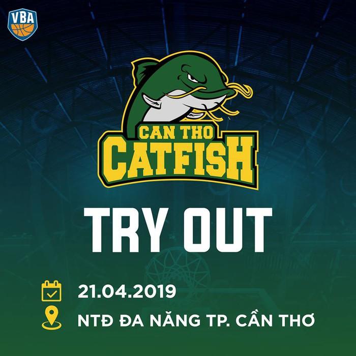 Đương kim vô địch Cantho Catfish tuyển quân trước thềm mùa giải mới - Ảnh 1.