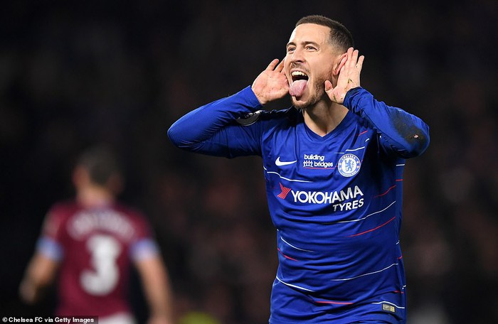 Hazard solo đi bóng ghi bàn đẹp mắt, Chelsea vươn lên vị trí thứ 3 Premier League - Ảnh 6.