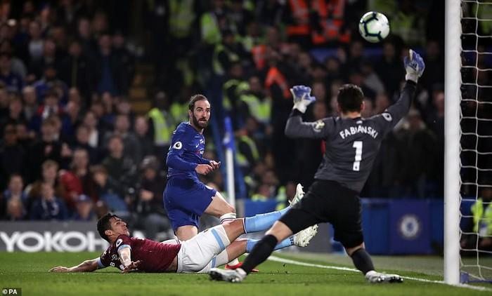 Hazard solo đi bóng ghi bàn đẹp mắt, Chelsea vươn lên vị trí thứ 3 Premier League - Ảnh 4.