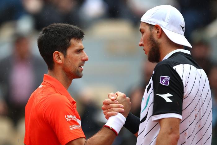 Djokovic đi vào lịch sử Roland Garros, đạt cột mốc đến ngay cả Vua đất nện Nadal cũng chưa từng vươn tới - Ảnh 4.
