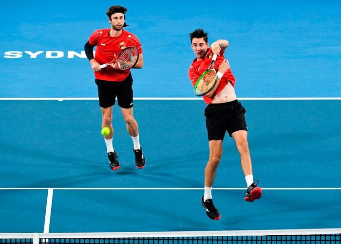 """Nadal """"thoát xác"""" hú vía từ tội đồ hóa người hùng, Tây Ban Nha nhọc nhằn vào bán kết ATP Cup - Ảnh 7."""