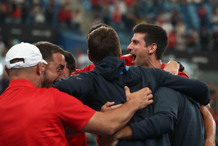 Nadal, Djokovic tỏa sáng để tạo nên trận chung kết trong mơ tại ATP Cup - Ảnh 9.