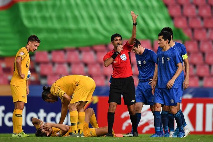 Đánh bại U23 Uzbekistan với tỉ số 1-0, U23 Australia giành vé dự Olympic sau 12 năm chờ đợi - Ảnh 5.