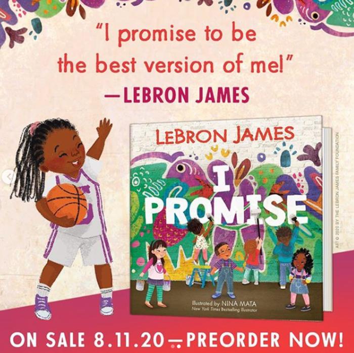 """""""VĐV xuất sắc nhất thập kỷ 2010"""" tiếp tục hướng đến những giấc mơ tuổi thơ với đầu sách """"I Promise"""" - Ảnh 1."""