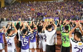 CLB Hà Nội phát vé miễn phí tới fan, sẵn sàng cho lễ nhận cúp hoành tráng