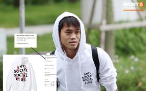 """Văn Toàn lại hóa """"rich kid"""" trong ngày hội quân cùng đội tuyển Việt Nam"""