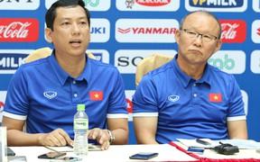 HLV Park Hang-seo lo ngại sâu sắc vì quãng thời gian tập trung ít ỏi của đội tuyển Việt Nam