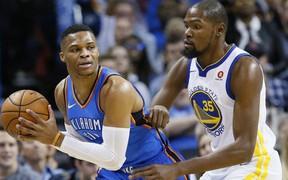 Link xem trực tiếp ngày mở màn NBA 2018-19: Golden State Warriors vs Oklahoma City Thunder