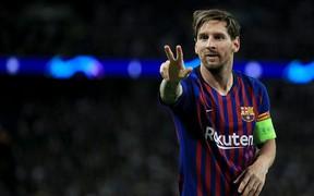 Messi giật giải cầu thủ hay nhất tuần của Champions League lần thứ hai liên tiếp