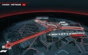 Hé lộ những hình ảnh phối cảnh đầu tiên về đường đua F1 tại Hà Nội