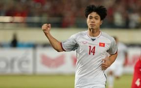 Nhận giải Cầu thủ xuất sắc nhất trận, Công Phượng vẫn muốn thể hiện nhiều hơn tại AFF Cup 2018
