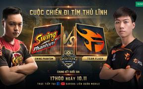 [Điểm tin Esports ngày 9/11] Team Flash vs Swing Phantom: Ai sẽ là đội lên ngôi vô địch ĐTDV và sở hữu 600 triệu tiền thưởng?