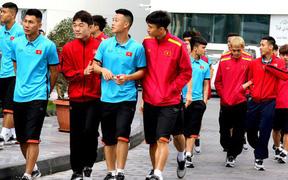 Vừa tới Qatar, HLV Park Hang-seo lo học trò xao nhãng sau chức vô địch AFF Cup 2018