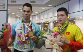 Đội tuyển Pencak Silat rạng rỡ về nước cùng 2 tấm huy chương vàng ASIAD 2018