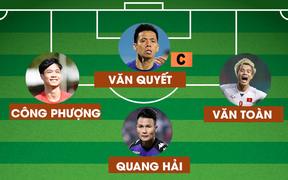 Đội hình kết hợp Hà Nội và HAGL: Không cần ngoại binh, vẫn đủ sức vô địch