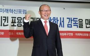 HLV Park Hang-seo: 'Tôi biết ơn Hiddink nhưng sẽ đánh bại ông ấy nếu Việt Nam gặp Trung Quốc'