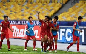 Hai trụ cột U16 Indonesia bỏ ngỏ khả năng ra sân trước U16 Việt Nam vì chấn thương
