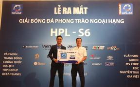HLV Trương Việt Hoàng dẫn dắt FC Moon thi đấu tại HPL S6